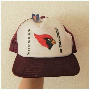 Vintage NFL Phoenix Cardinals Mesh Trucker Hat
